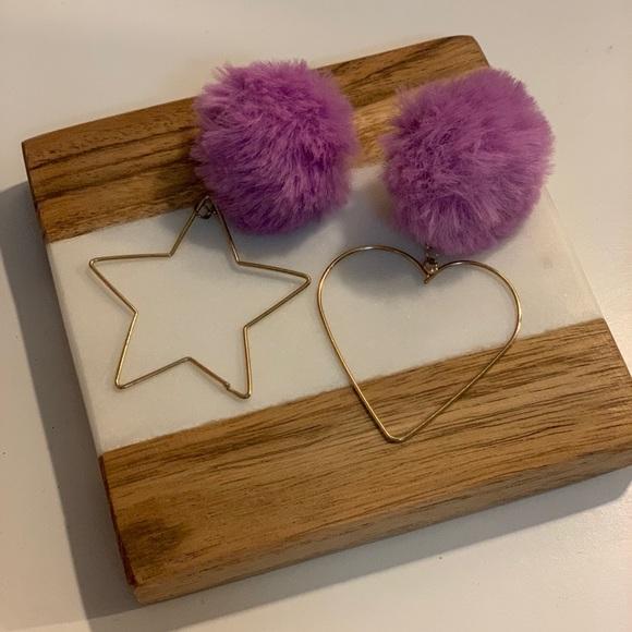 Jewelry - Puffy earrings